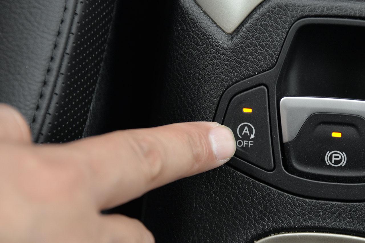 图中所示图标为车辆发动机启停功能开闭按键,指示灯亮起为关